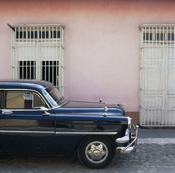 automobile, car, cuba, day, nobody, old-fashioned, outdoor, parked, retro, road, street