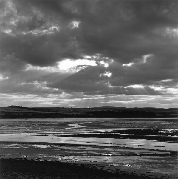 budle bay, black and white, budle bay, cloud, clouds, day, environment, low tide