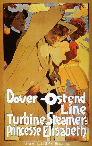 Dover-Ostend Line, Turbine Steamer