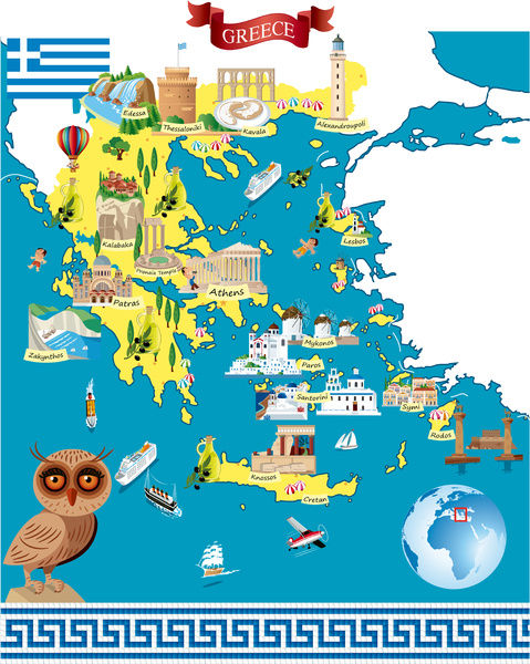 Greece Cartoon Map as a A1 (84x59cm) Poster on not to scale map, sci fi map, road map, political map, childrens map, countries flags map, simple map, french map, office map, car and map, cute map, tube map, game map, classroom map, me on the map, watercolor map, student with map, vintage map,