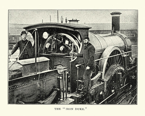 GWR Iron Duke Class Steam Locomotive