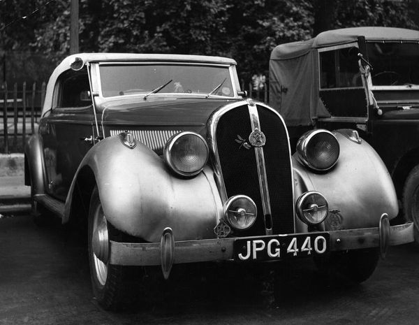 The Hotchkiss. 1953: The Hotchkiss, seen in Licoln Inn Fields