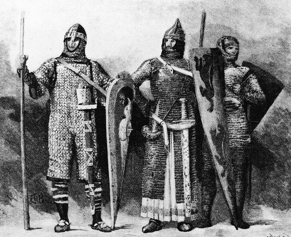 Illustration Of Soldiers In Armor #13588735 Framed Prints, Wall Art