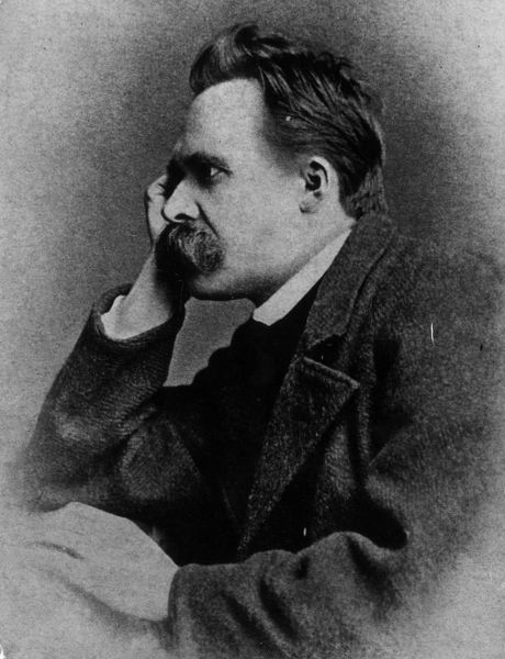 circa 1885: German philosopher Friedrich Nietzsche (1844 - 1900). (Photo by Hulton Archive/Getty Images)