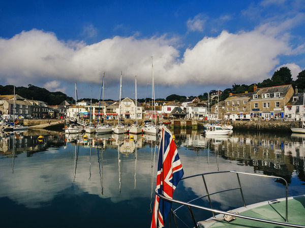 Padstow Harbour, Cornwall, UK