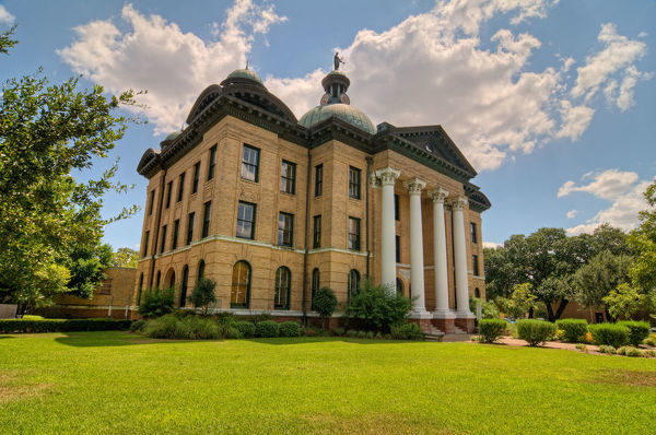 Richmond Courthouse. The County Courthouse in Richmond, Texas
