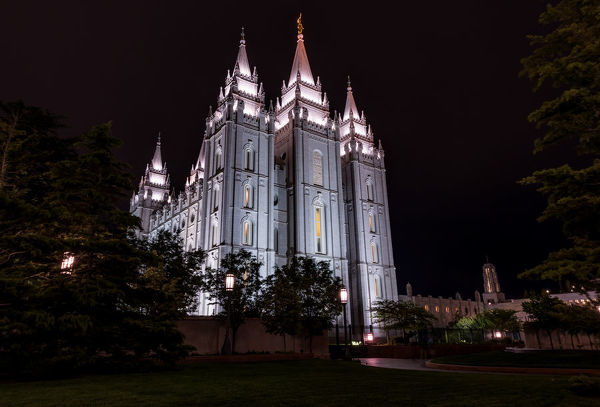 The centerpiece of Temple Square in Salt lake City, Utah. It is also the sixth church built by the Mormon church