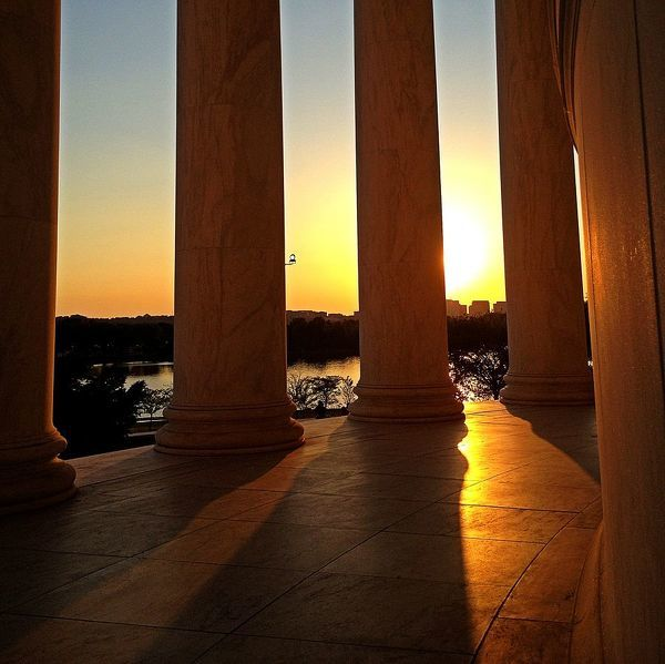 World City Day. Jefferson Monument