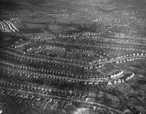 1950 Aerial Estate View