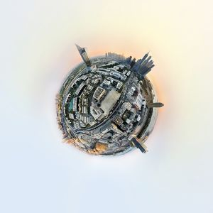 360A° Aerial Dubai Media City
