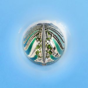 360A° Aerial View of Palm Jumeirah