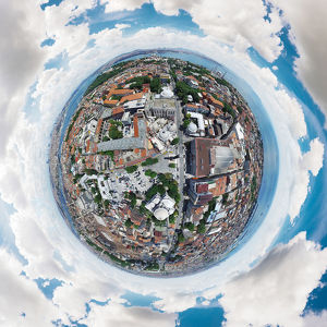 360A° City View of Istanbul, Turkey