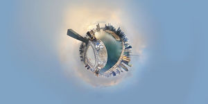 360A° Little Planet of Dubai Business Bay