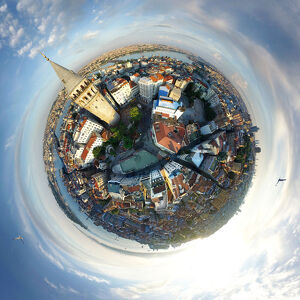 360A° View of Galata Tower, Istanbul