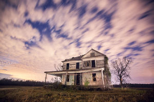 Abandoned Rural Farmhouse