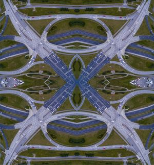 Aerial of Highways