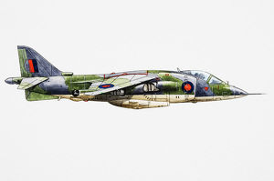 RAF Harrier GR.1/GR.3, first operational close-support and reconnaissance fighter