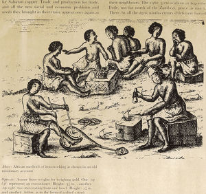 Africans Making Iron