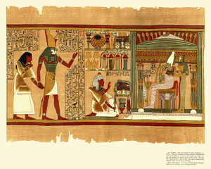 Ancient Egyptian Papyrus of Ani - Book of the Dead