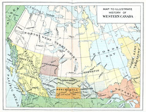 Antique Map of Canada - 19th Century