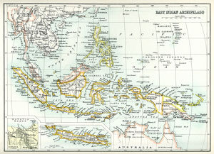 Antique map of East Indian Archipelago