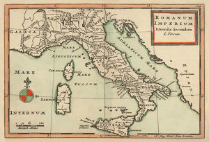 Antique Map of Italy 1732