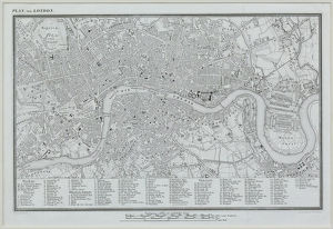 Map of London , England