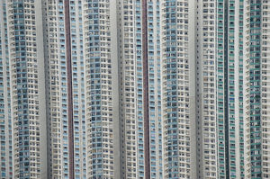 Apartment blocks. Hong Kong.
