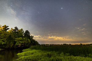Ashley River Milky Way