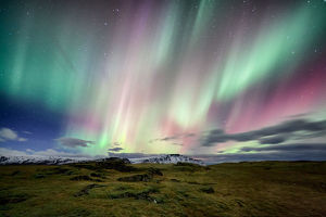 Aurora borealis (northern lights) in Iceland