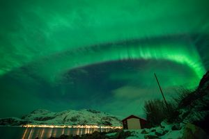 Aurora borealis in Troms V