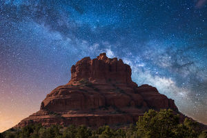 Bell Rock Milky Way