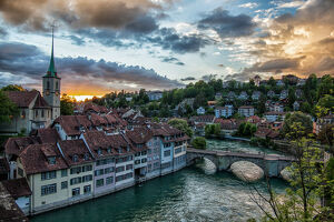 travel imagery/travel photographer collections dado daniela travel photography/bern sunset