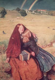 The Blind Girl by Sir John Everett Millais