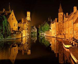 travel imagery/travel photographer collections dado daniela travel photography/brugge night