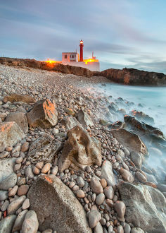 global landscape views/fred concha photography/cabo raso lighthouse fort saint bras near guincho