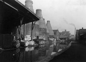 Canal And Potteries