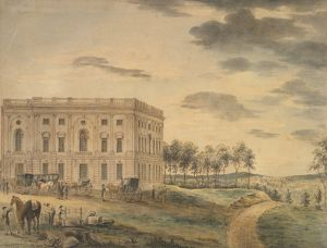 Capitol In Washington DC, 1800