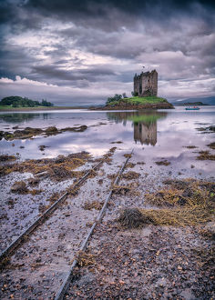 global landscape views/george w johnson landscapes/castle stalker appin
