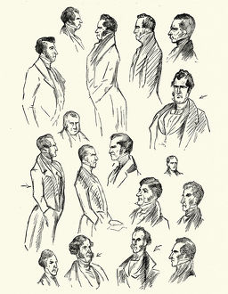 Character sketches for Charles Dickens