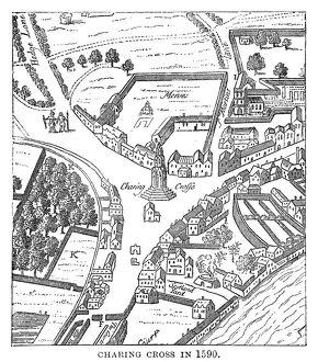 Charing Cross in 1590