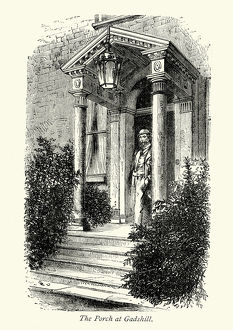 Charles Dickens Porch at Gads Hill Place