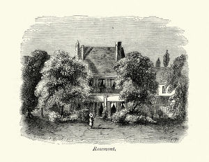 Charles Dickens And Villa Rosemont