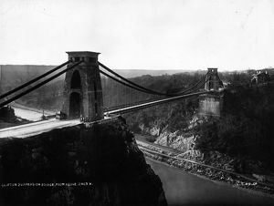 collections/heritage images london stereoscopic company lsc/clifton bridge circa 1900