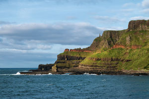 Coast of Giant's Causeway, Northerb Ireland