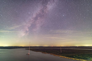 The Dawho River and the Milky Way