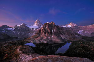 Dawn at Mt. Assiniboine