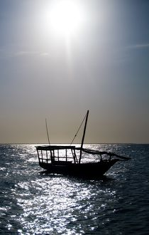 Dhow Silhouette