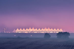 DIA (Denver International Airport) Dawn