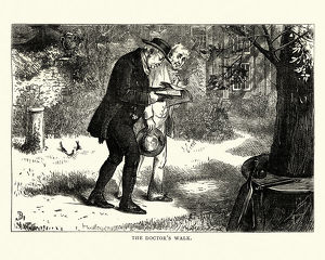 Dickens, David Copperfield, The Doctor's Walk